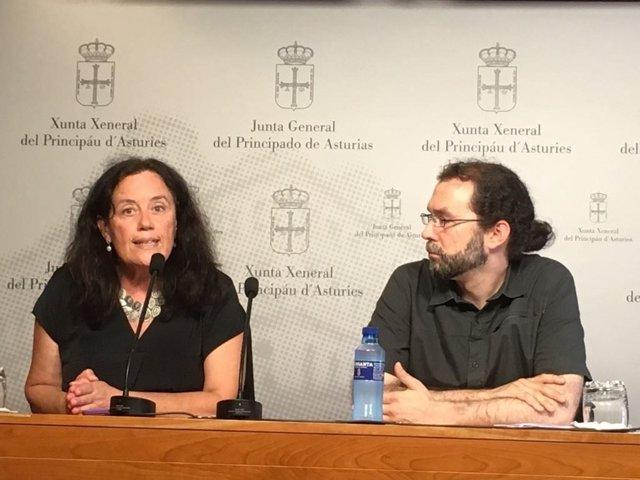 Paula Valero y Emilio León