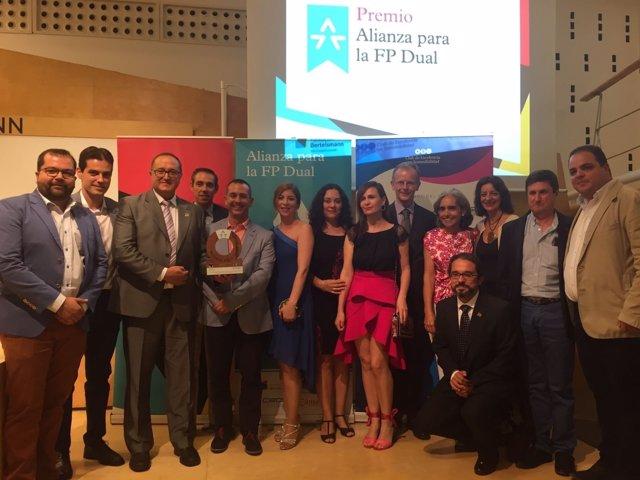 Premio Alianza para el IES Fernando III, de Martos