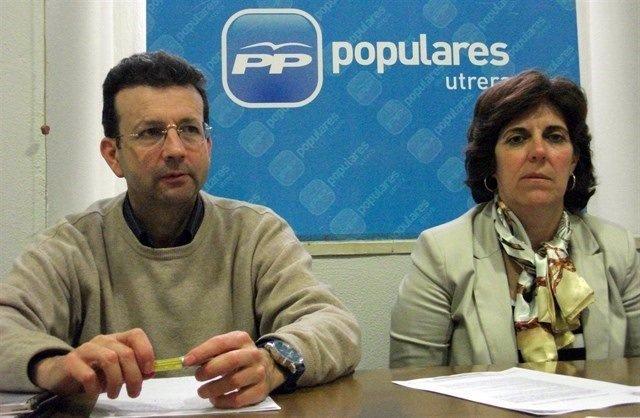 Wenceslao Carmona y Francisca Fuentes.