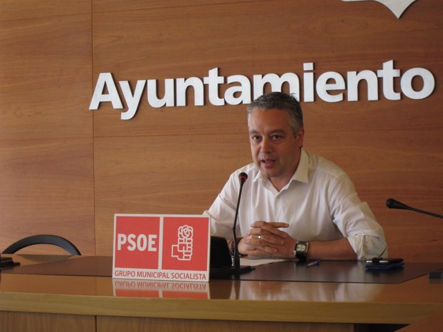 El concejal del PSOE José Luis Díez Cámara