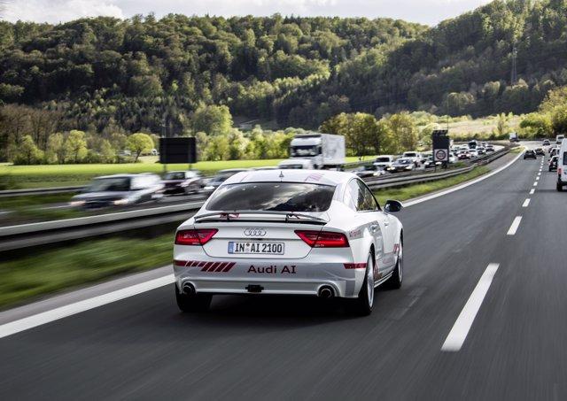 Vehículo de Audi con inteligencia artificial
