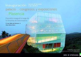 El Palacio de Congresos de Plasencia se inaugura este jueves