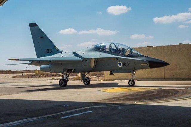 Avión de la Fuerza Aérea israelí