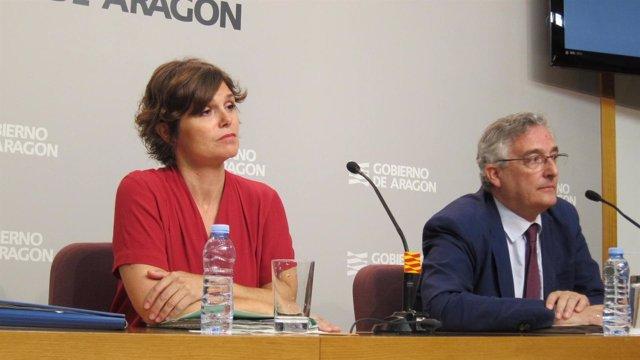 Inés Torralba y Joaquín Olona