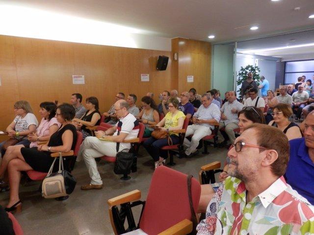 Asamblea de CC.OO. En Lleida
