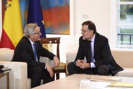 """Tajani, Juncker y Tusk agradecen el reconocimiento a la UE y el """"gran honor que llega desde España"""""""