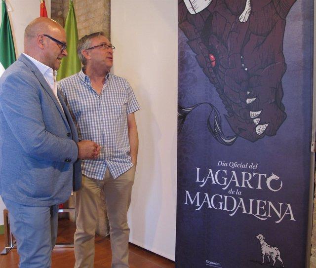 Presentación del Día Oficial del Lagarto de la Magdalena 2017.