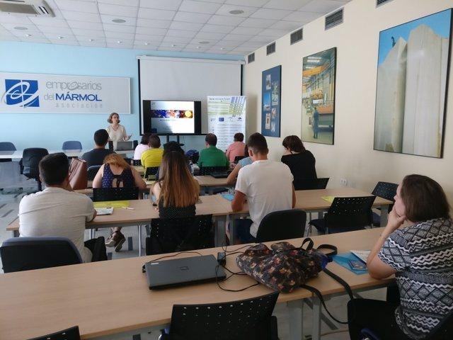 El curso ha comenzado con una charla sobre movilidad europea.