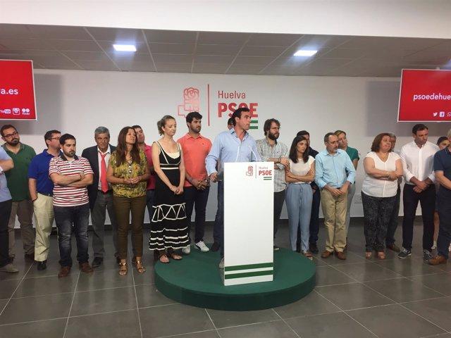El alcalde de Bollullos, el socialista Rubén Rodríguez.
