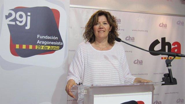 Carmen Martínez, patrona de la Fundación '29 de junio'