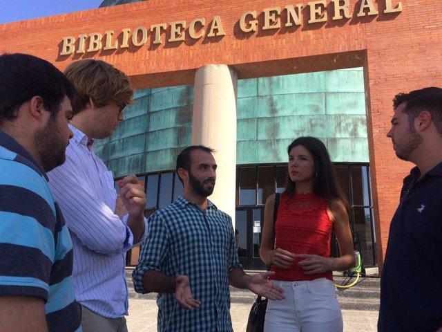 NNGG biblioteca ayudas becas enrique rodríguez jóvenes PP