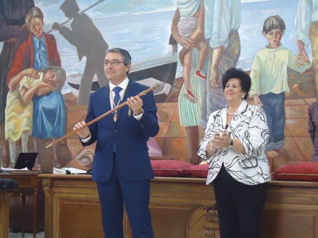 Francisco Salado, alcalde de Rincón de la Victoria