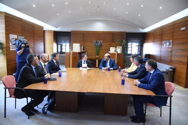 Page en la reunión de Cuenca