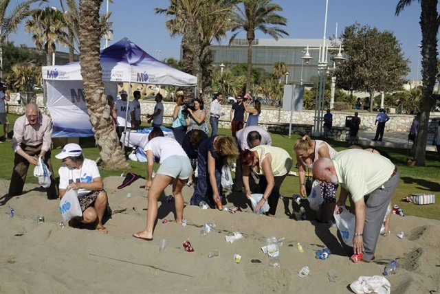 Huertos urbanos en las playas