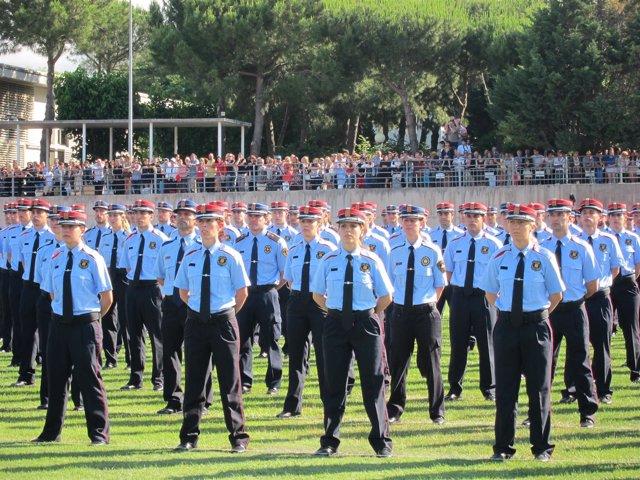 Graduación de los Mossos 2012