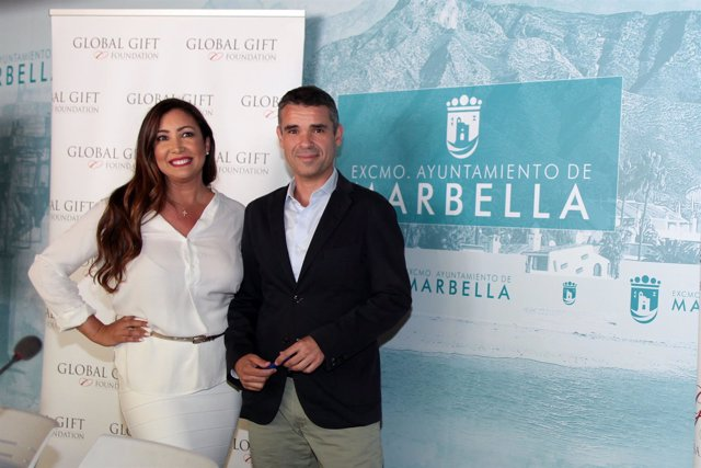 José Bernal y María Bravo Global Gift Gala Marbella casa global filantrópico