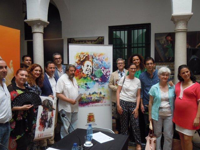 Presentación del LVI Festival Antonio Mairena