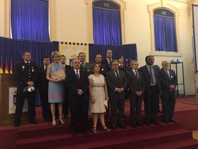Acto de concesión de medallas de Dignidad y Justicia