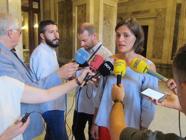 La portavoz adjunta del PP en el Paralament, Esperanza García