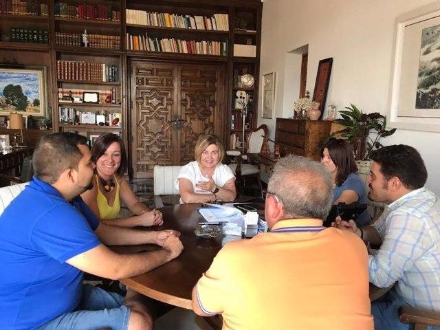 Reunión de Cordero con entidades locales menores