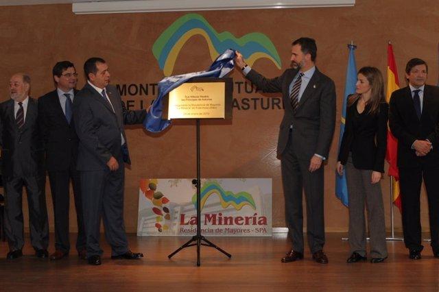 Inauguración de la Residencia de Montepío en Felechosa