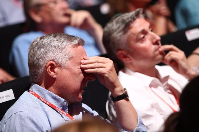 José Blanco en el Congreso del PSOE