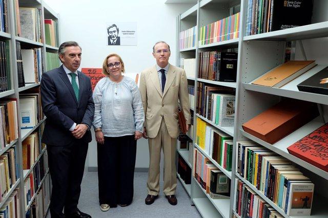 Donación de la biblioteca de Gabriel Cisneros a Tarazona
