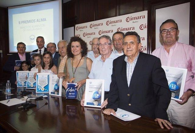 Entrega de premios Alma del Banco de Alimento de Huelva.