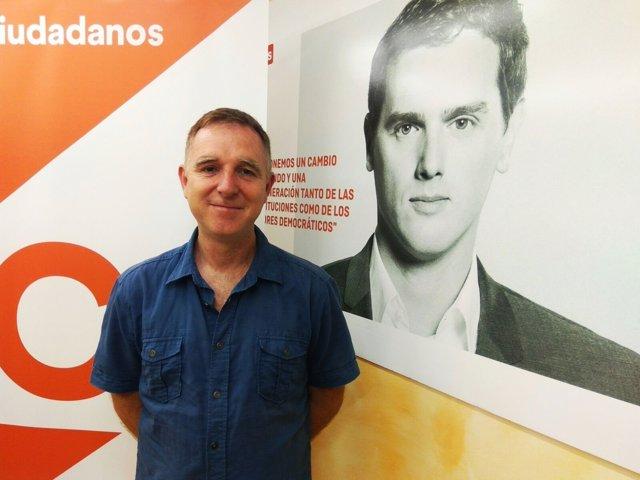 Jesús López elegido coordinador de la Agrupación Local de Cs