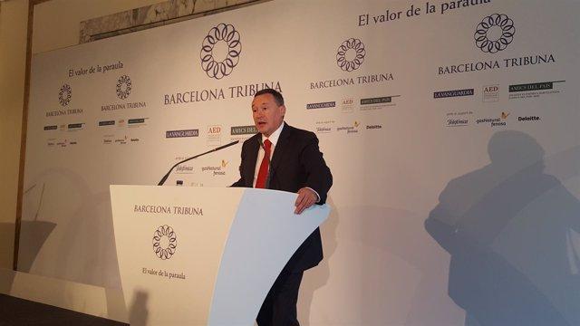 Ángel Simón, presidente de Agbar