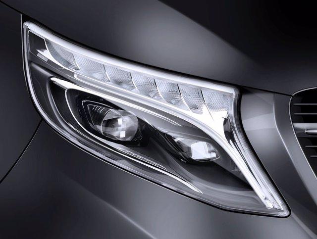 Iluminación del Mercedes-Benz Clase V