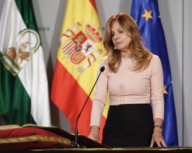 La nueva consejera de Salud de la Junta de Andalucía, Marina Álvarez