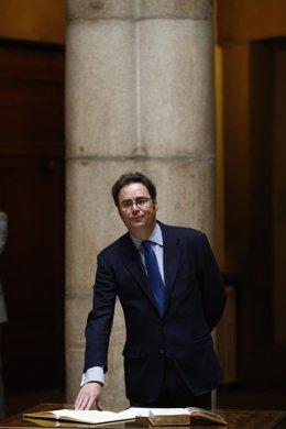 Toma de posesión de Jorge Toledo, secretario de estado para la Unión Europea