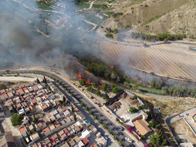 Imagen Del Lugar Del Incendio