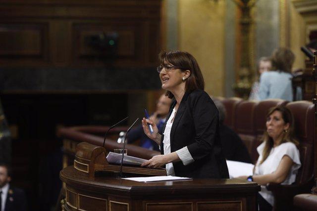 Soraya Rodríguez en el Congreso de los Diputados
