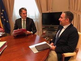 El ministro de Fomento y el presidente de la Diputación de Málaga