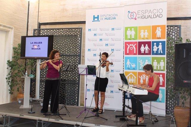 Primera actividad del proyecto de la Diputación de Huelva 'Espacio de igualdad'