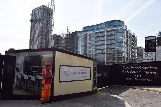 Nuevos apartamentos en construcción en Kensington Row