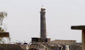 Al Abadi asegura que Estado Islámico ha reconocido su derrota al destruir la mezquita Al Nuri en Mosul
