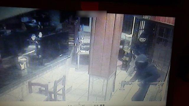Uno de los robos de la banda desarticulada en la operación Encu