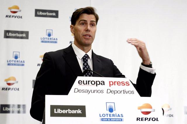 Raúl Chapado, Presidente De La Real Federación Española De Atletismo (RFEA)