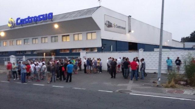 Huelga del metal este jueves en A Coruña