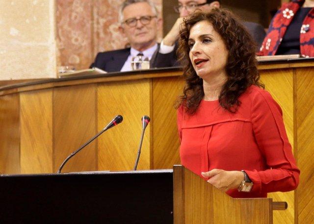 María Jesús Montero, este miércoles