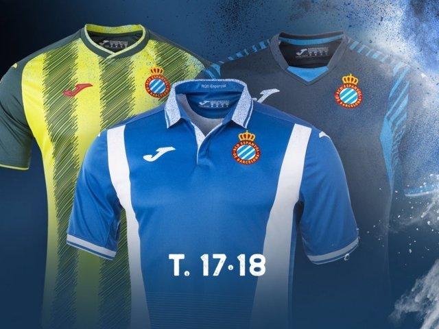 Camiseta equipación Espanyol 2017-18