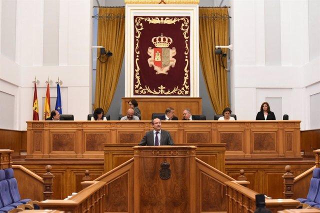 Ruiz Molina en las Cortes