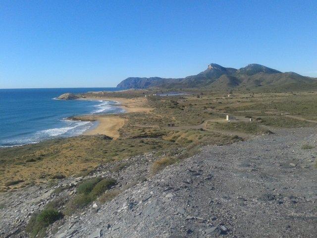 Vista panorámica del Parque Regional de Calblanque