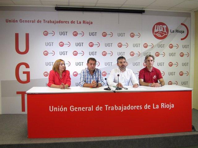 Jesús Izquierdo candidato secretario gral UGT