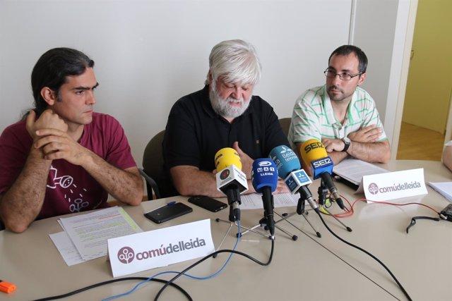 Sergi Talamonte, Josep Jover y Carlos González