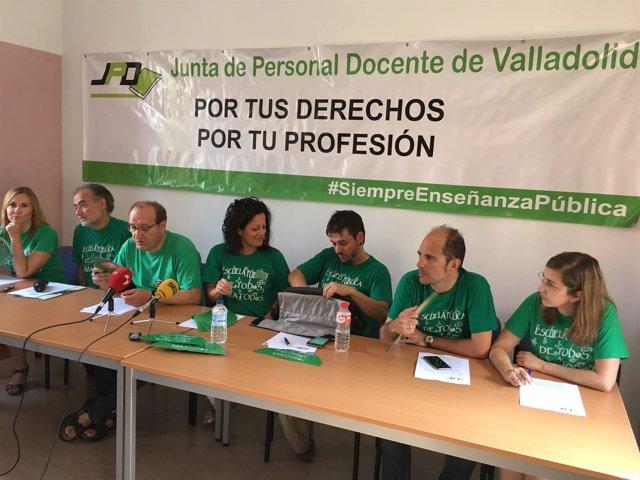 Valladolid. Reunión de la Junta de Personal Docente