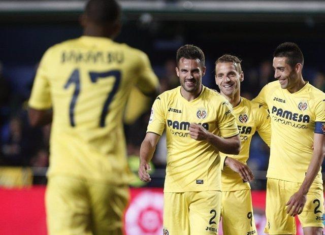 El Villarreal vence en Primera División. Bakambu, Mario, Soldado y Bruno.